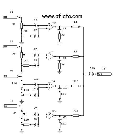 Promo Spliter Audio Hp Mic Splitter Mikrofon 4 Pole 3 5mm In audio mixer circuit page 3 audio circuits next gr