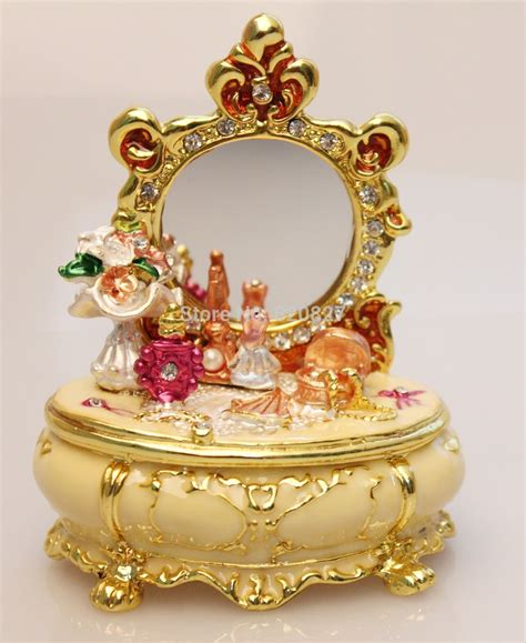 vintage crafts vintage treasures dresser trinket box in dressing table