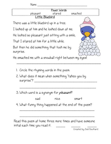 2nd Grade Common Reading Worksheets by Reading Comprehension Worksheets 4th Grade