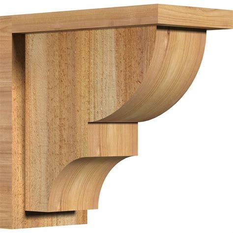 Rustic Wood Corbels Ridgewood W Backplate Rustic Timber Wood Corbel