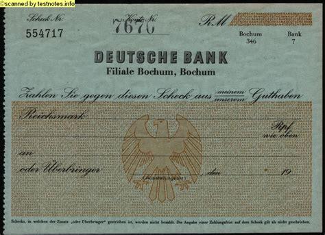 deutsche bank regensburg blz schecks