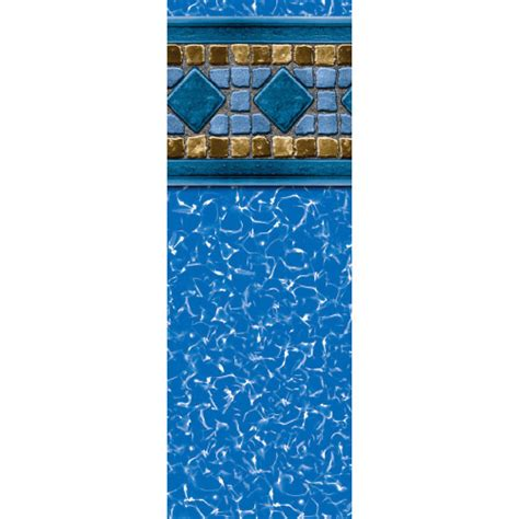 24 ft beaded pool liner for 52 in wall 24 lucia 52 quot uni bead above ground pool liner