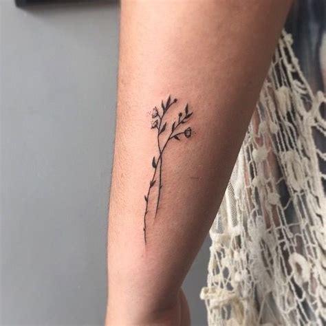 tattoo minimalist flower minimalist tattoo tattoo pinterest minimalist