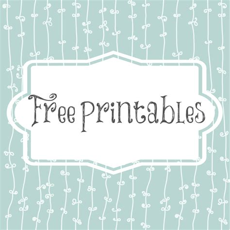 Free Printables Twincitiesview Free Printables