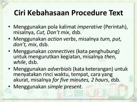 teks prosedur membuat omelet procedure text