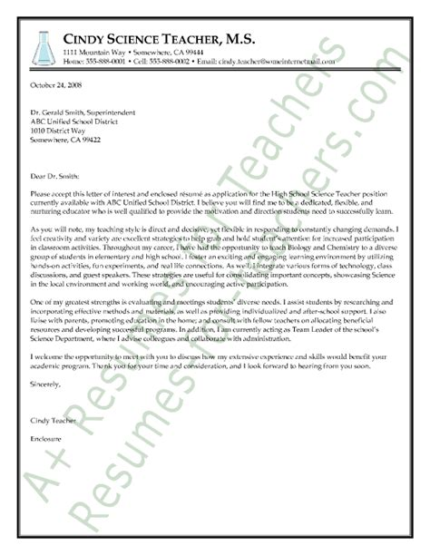 sample cover letters for employment sample cover letter for job