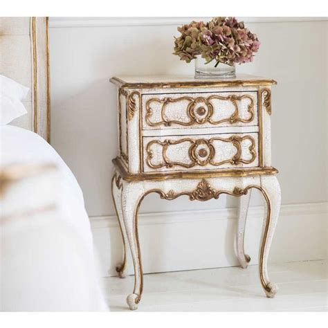 ivory french bedroom furniture palais ivory gold bedside table french bedrooms