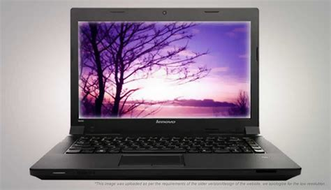 Laptop Lenovo B490 Baru lenovo b490 59 369345 price in india specification features digit in