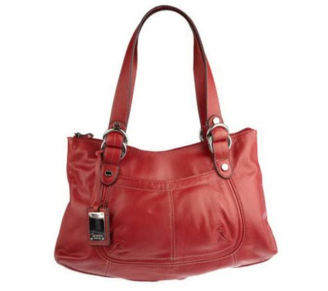 Tignanellos Eastwest Shopper From The Nantucket Collection 2 by Tignanello Glove Leather East West Tote Bag Qvc