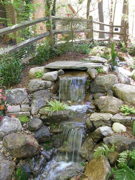 55 Small Backyard Waterfall Design Ideas Waterfall Small Garden Waterfall Ideas