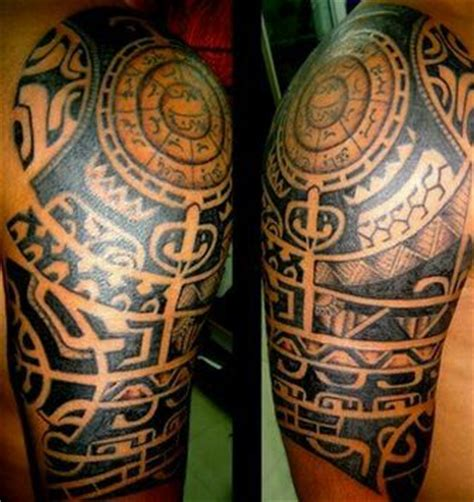 quarter sleeve aztec tattoo aztec half sleeve tattoo ink work pinterest sleeve