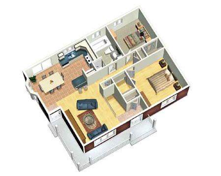 3d Small House Plans Metric Narrow Lot Canadian 3d Home Floor Plan Design Suite V 9