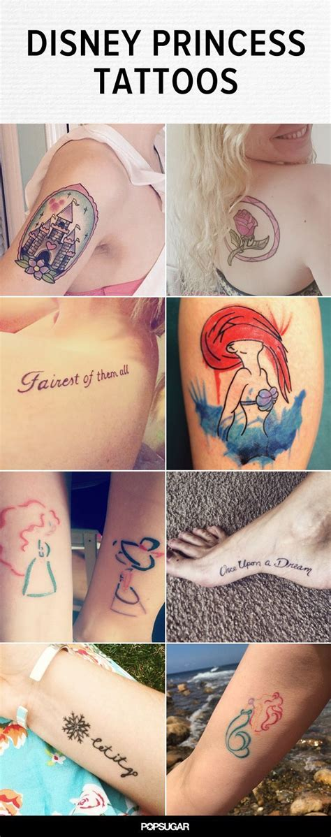 disney princess tattoo these 20 disney princess tattoos are the fairest of them