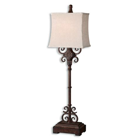 Buffet Table Lights Uttermost 29533 1 Cubero Buffet Table L Atg Stores