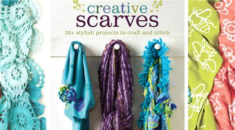 creative scarves hop you need this book favecrafts