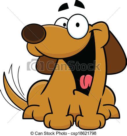 imagenes niños felices caricatura eps vectores de cola feliz el menear caricatura perro