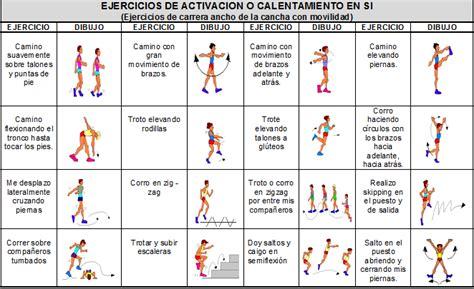 ejercicios de educacion fisica newhairstylesformen2014 com san esteban preparados listos ya el calentamiento