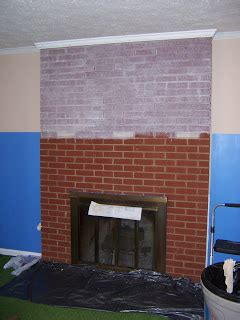 prose brick fireplace stain