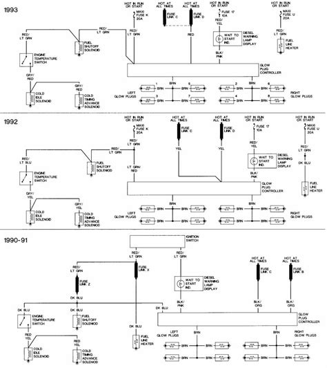 exhaust system wiring diagrams of 1990 1993 ford f250 xlt