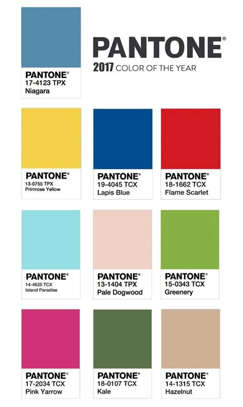 pantone colors of the year list 25 best ideas about pantone colours on pinterest