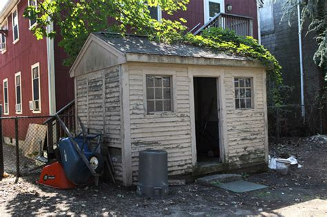 Tool Shed Waltham by Preserving Possible 18th Century House Boston