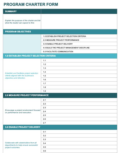 14 Free Program Management Templates Smartsheet Program For Managers Template