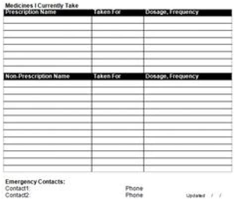 Template For Medic Alert Card by Save Your Wear The Alert Symbol And Keep