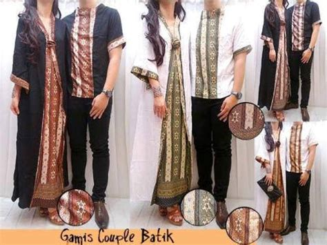 Nora Katun Rayon Baju Pasangan Gamis Pesta Batik Maxi Dress Muslim Etnik Katun