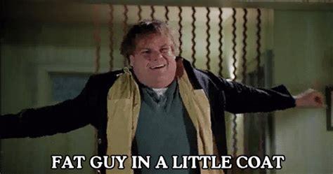 Tommy Boy Memes - gif chris farley tommy boy fat guy in a little coat