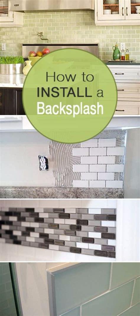 how to install subway tile diy ideas pinterest best 25 backsplash in kitchen ideas on pinterest