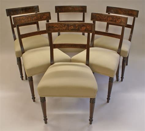 Regency Dining Chairs Mahogany A Set Of 6 Regency Mahogany Dining Chairs 262190 Sellingantiques Co Uk