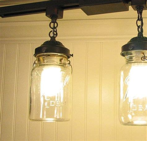 jar track lighting pendant new quart chandelier
