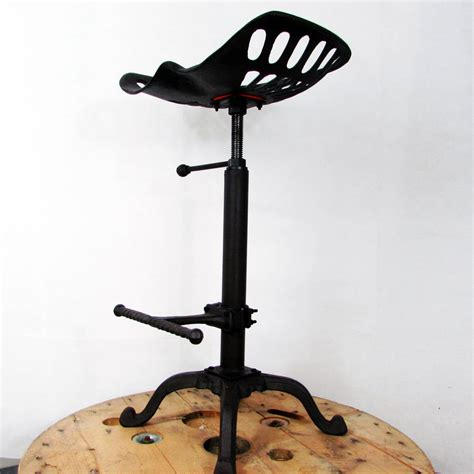 unique cast iron tractor seat bar stool pub chair traditional tractor seat metal bar stool by unique s co