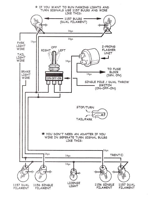 golf cart turn signal installation wiring diagrams