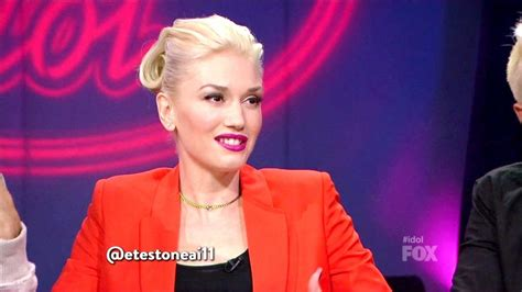Gwen Jlo Will Appear On American Idol by Gwen Stefani Retro Updo American Idol Looks Stylebistro