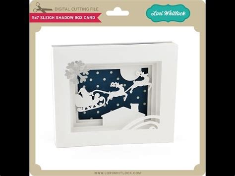 how to make a shadow box card 5x7 shadow box card