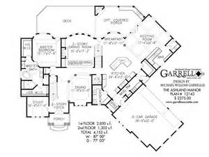 ashland manor house plan house plans by garrell
