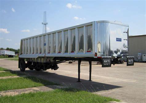 boat trailer axles houston tx 2018 mate 35 ft semi frameless tri axle end dump trailer