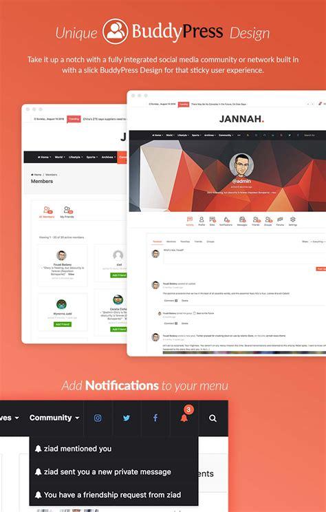 themeforest jannah jannah news newspaper magazine news amp buddypress by