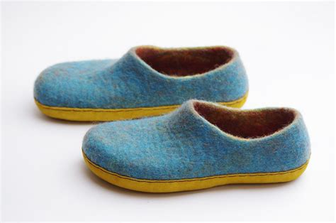 felted slippers felted slippers clogs summer felted shoes felted wool