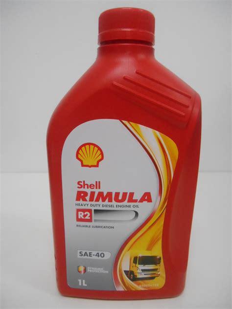 Shell Rimula R2 1 shell rimula r2 40w 1 l sae 40 sejahtera