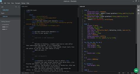 best web design editor mac 6 best free html editor on windows linux mac in 2017