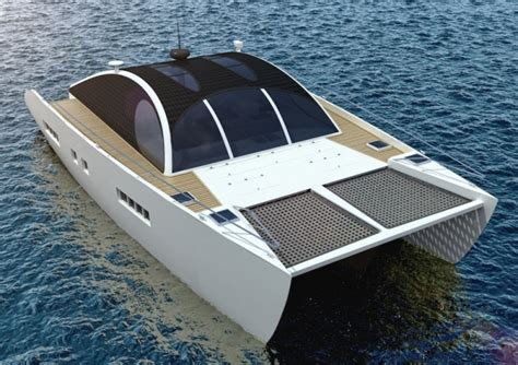 catamaran design boat the marvin 50 eco sustainable motor cruising catamaran