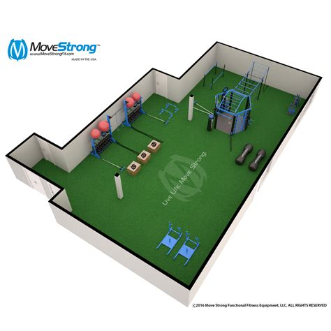 product layout exercise functional fitness floor space design movestrong