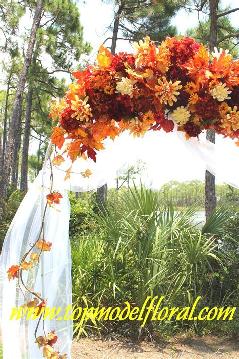 Fall Wedding Arch & Decorating Ideas   Unique Floral