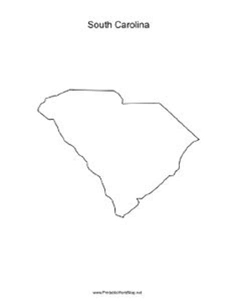 blank map south carolina pin by muse printables on printable patterns at