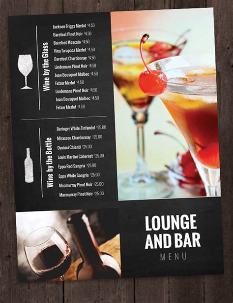 sports bar menu template drink menu templates 30 free psd eps documents