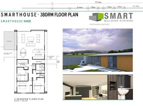 Smart House 3 Bedroom Floor Plan House Plans New Zealand Ltd Smart Home Design Plans