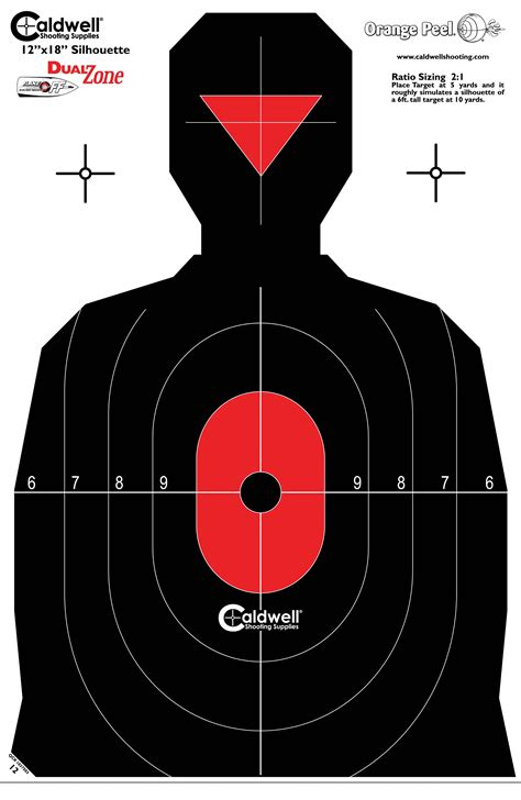 free printable military targets caldwell 174 shooting supplies brands targets