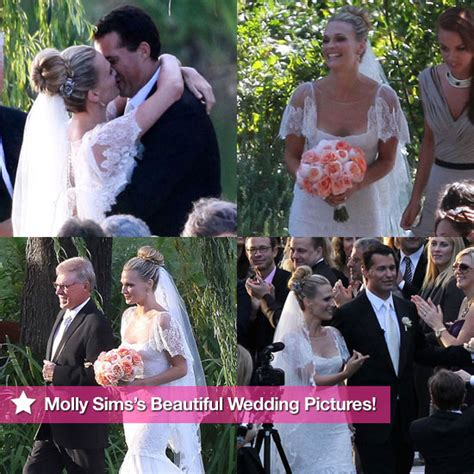 rachel nichols wedding molly sims wedding pictures with scott stuber popsugar